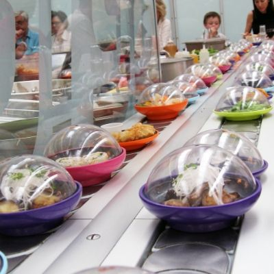 Japan's Conveyer Belt Sushi Restaurants Are Switching to Touchscreens