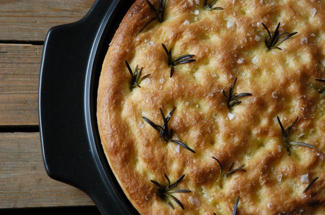 Kublanka vaří doma - Focaccia s rozmarýnem