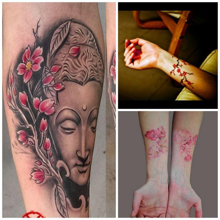 Les 25 meilleures id es de la cat gorie tatouages fleurs de cerisier sur pinterest tatouage - Signification fleurs tatouage ...