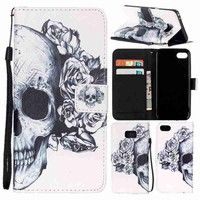 Type:Phone Case/Wallet Case/Flip Cover Design:Painted Pattern Material: PU leather outer +TPU inner