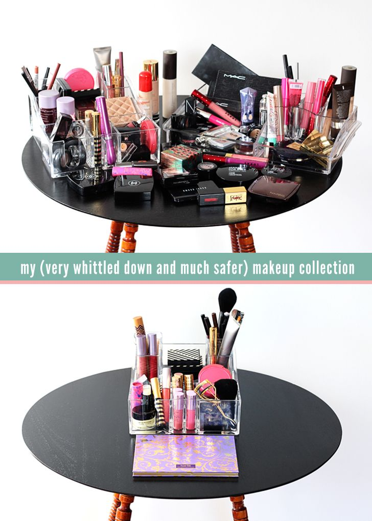 I got rid of all of my toxic makeup, and here's everything I'm using now.