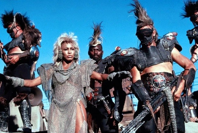 Tina Turner - Mad Max...watching the movie now..and I remember how BAD (good) she was (and still is)!