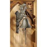 Found it at Wayfair - Dragon of Murdock Manor Gothic Iron Bell