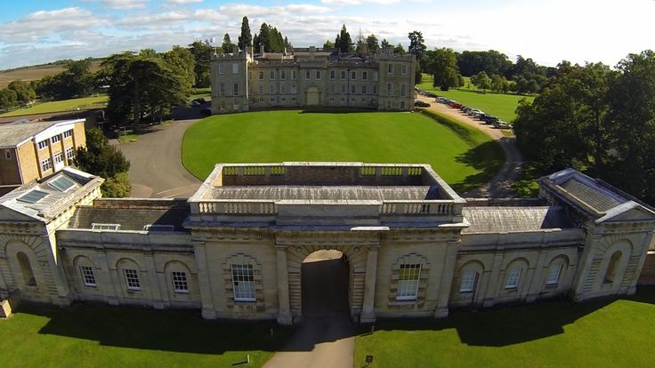 Kimbolton Castle where Henry VIII's Queen Catherine died. Now a school.