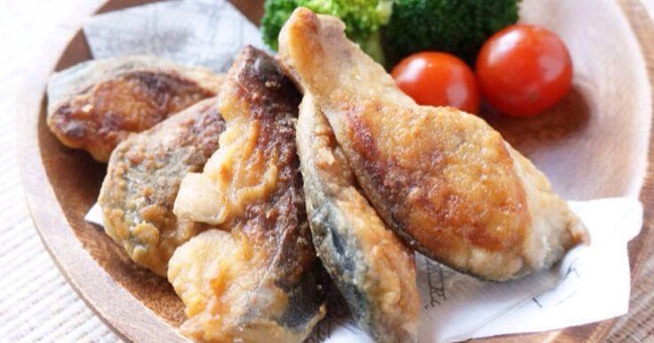 サクサク香ばしい鯖の竜田揚げです♪揚げ焼きで片付けも簡単、こどもから大人までごはんがもりもり食べられます( •ॢ◡-ॢ)