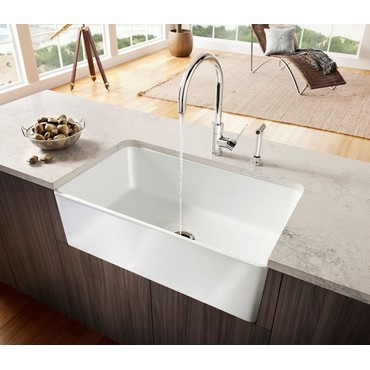 Farmhouse Sink In Modern Kitchen : ... and Offer Pinterest Modern kitchens, Farmhouse sinks and Farm
