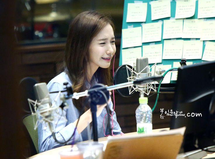 sunny radio,radio,yoona,cute,cry cry