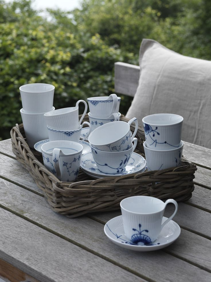 Mix of Royal Copenhagen Cups & Mugs in the 2013 Catalogue