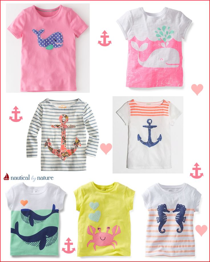Nautical by Nature: Nautical Valentine's Day Outfits for Girls