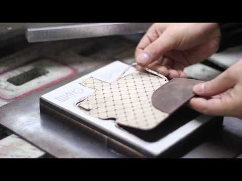 Bouletta - Manufacturing of leather phone cases - YouTube
