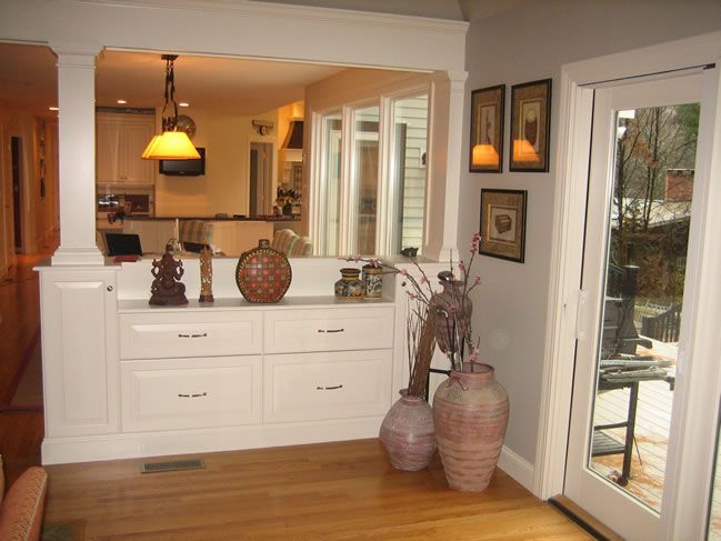 1000 Images About Half Wall On Pinterest Walls Room Dividers And Kitchens Bookcase Divider