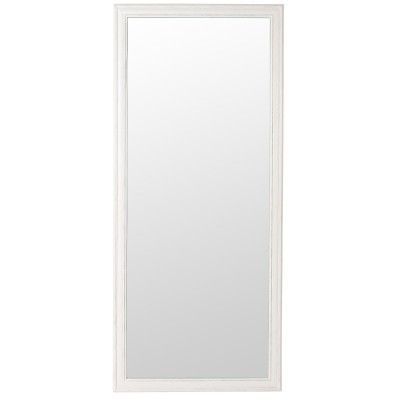 CLASSIC Framed Mirror Large (White)