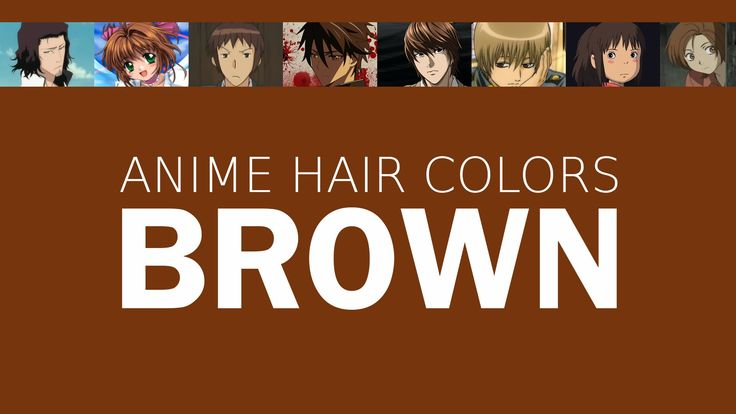 Hair Color in Anime Characters: Brown, Meaning & Psychology
