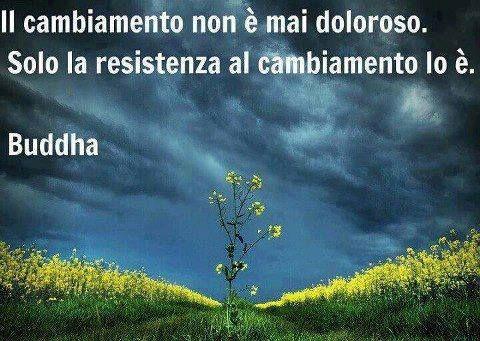 Budda- El cambio nunca es doloroso. Sólo la resistencia al cambio lo es.