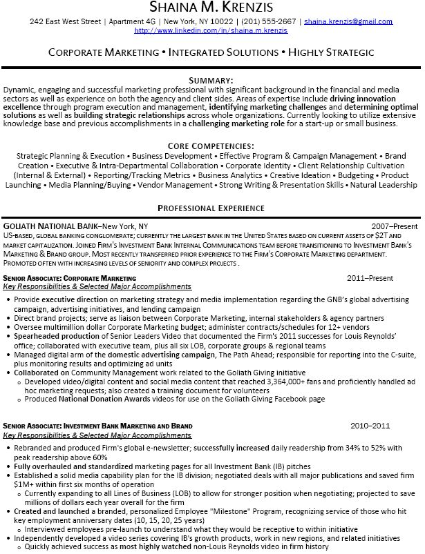 The 25+ best Free resume samples ideas on Pinterest Free resume - professional accomplishments resume