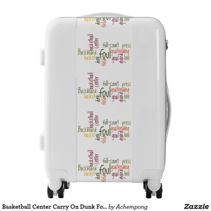 Basketball Center Carry On Dunk Foul Field Luggage #Basketball Center Carry On Dunk Foul Field full court sports fanatics super lightweight design Luggage #Suitcase for the perfect