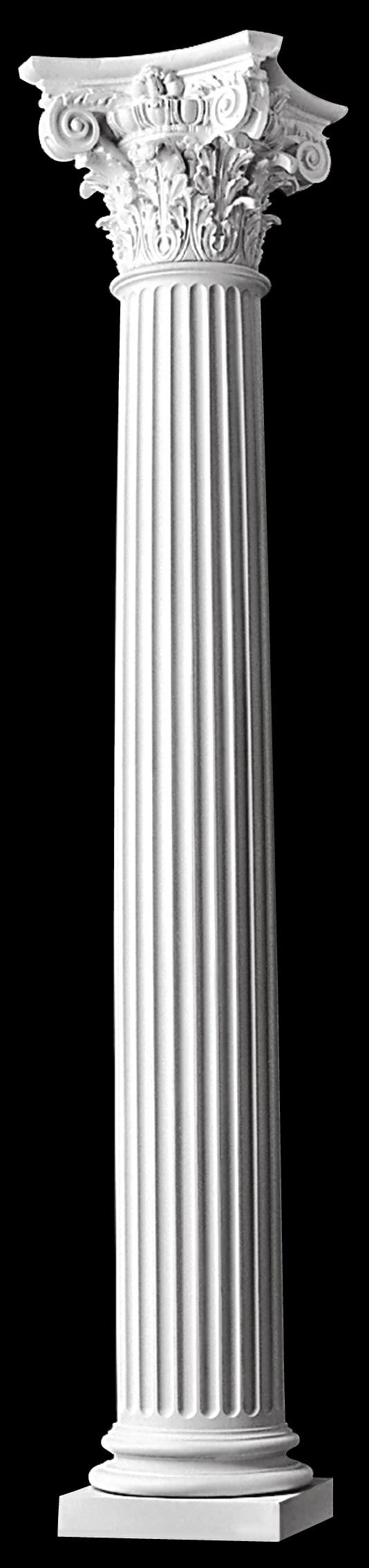 Best 25 fluted columns ideas that you will like on pinterest for Crown columns fiberglass