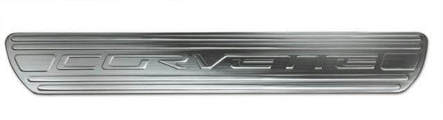 2005+ Chevrolet Corvette Door Sills Chrome