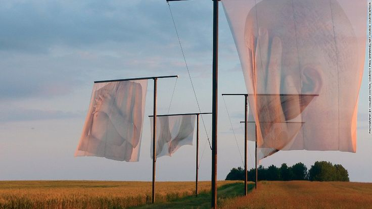 At the Somme, The Lost Men France takes a different approach. The translucent flags, designed by South African artist Paul Emmanuel, are sensitive depictions of a body with the names of soldiers who lost their lives pressed into the skin. Art of war: Creating poignant monuments for the modern world - CNN.com