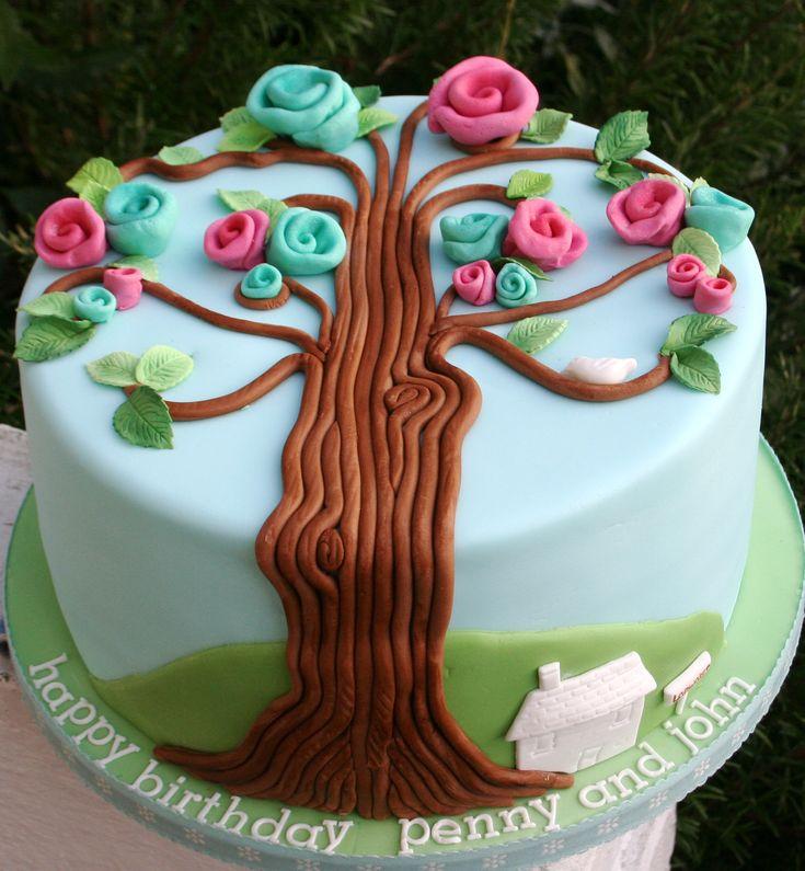 Cake Art Decor Zeitschrift 2018 : The 25+ best Family tree cakes ideas on Pinterest ...