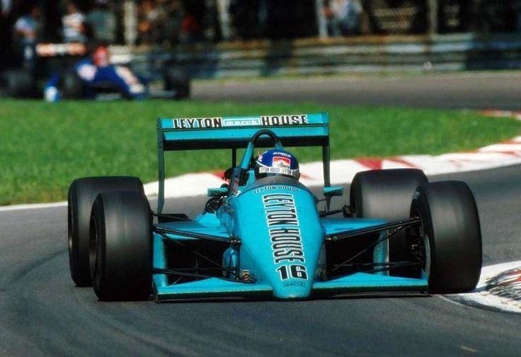 1987 GP Włoch (Monza) March 871 - Ford (Ivan Capelli)