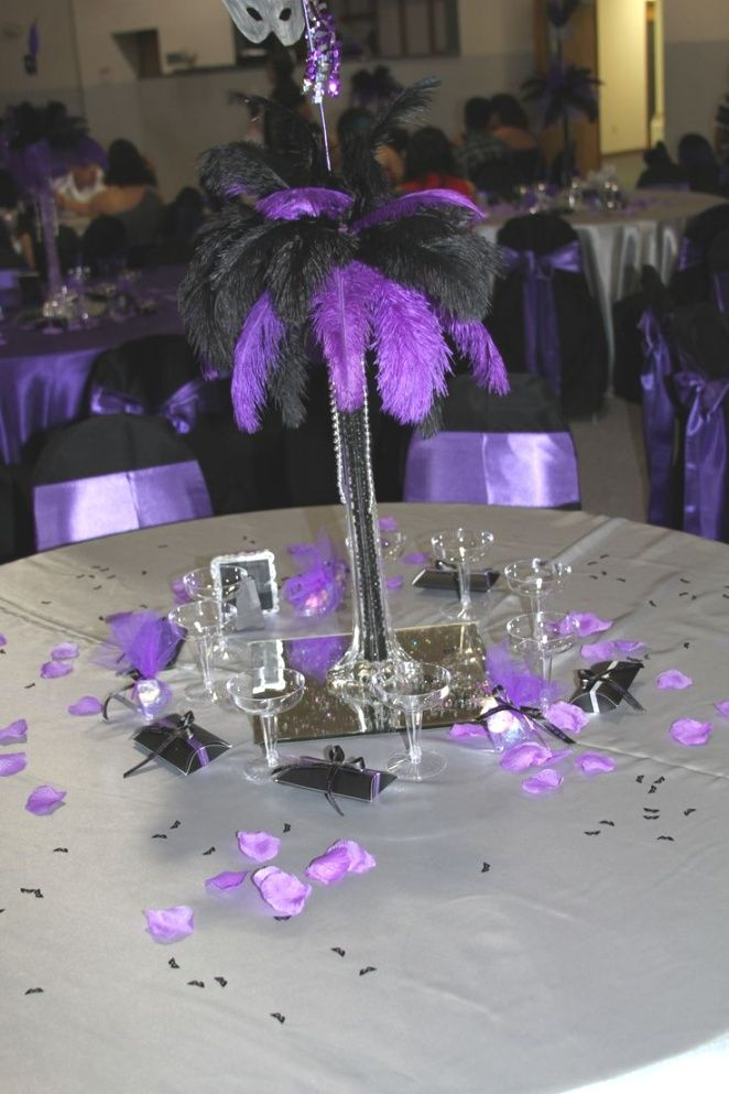 Masquerade Centerpieces For Quinceaneras 1000 Ideas About    | Raysa