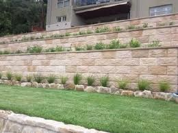 sandstone retaining wall - Google Search