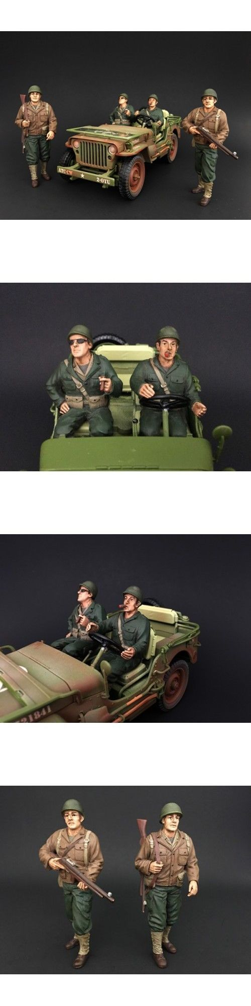 Figures 180279: 1 18 Scale Figure- Wwii Us Army Soldiers - Set Of All 4 - American Diorama -> BUY IT NOW ONLY: $45 on eBay!