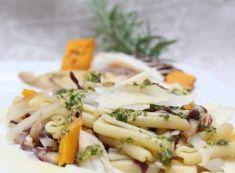 Caserecce con verdure autunnali grigliate e condimento d'olio al rosmarino - Tutte le ricette dalla A alla Z - Cucina Naturale - Ricette, Menu, Diete