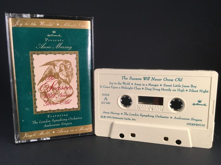 ANNE MURRAY feat: the london symphony orchestra - CASSETTE TAPE christmas