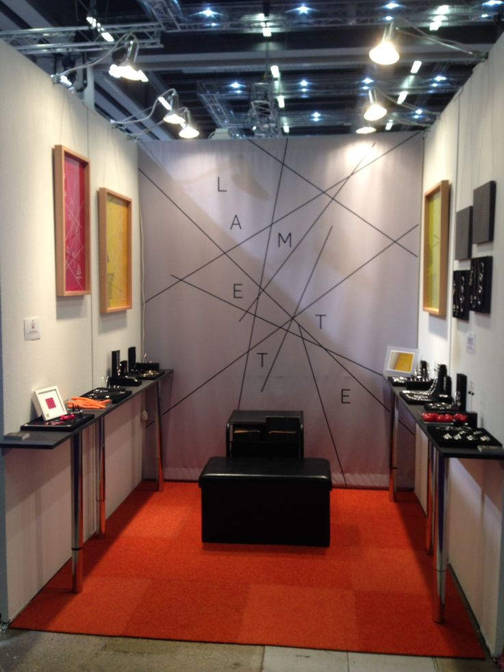 Lamette in place at Precious Stockholm Nordic Watch and Jewellery Fair.