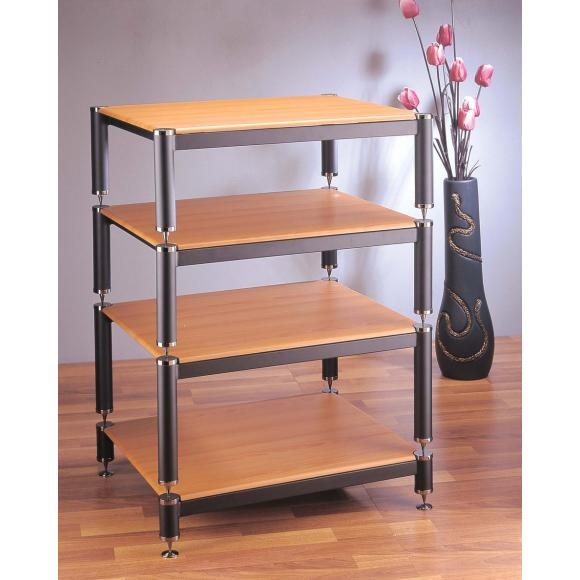 VTI BL Series 404 4 Shelf Audio / Video Rack. Free Shipping. Visit