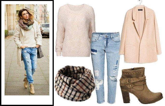Gruby sweter damski STYLIZACJE; street style - Gruby sweter to damska tajna broń na mrozy. Jak go nosić, by było modnie i wygodnie? W odpowiedzi na to pytanie wyruszyłyśmy w podróż. Nie do Londynu, Paryża, Mediolanu, czy Nowego Jorku...
