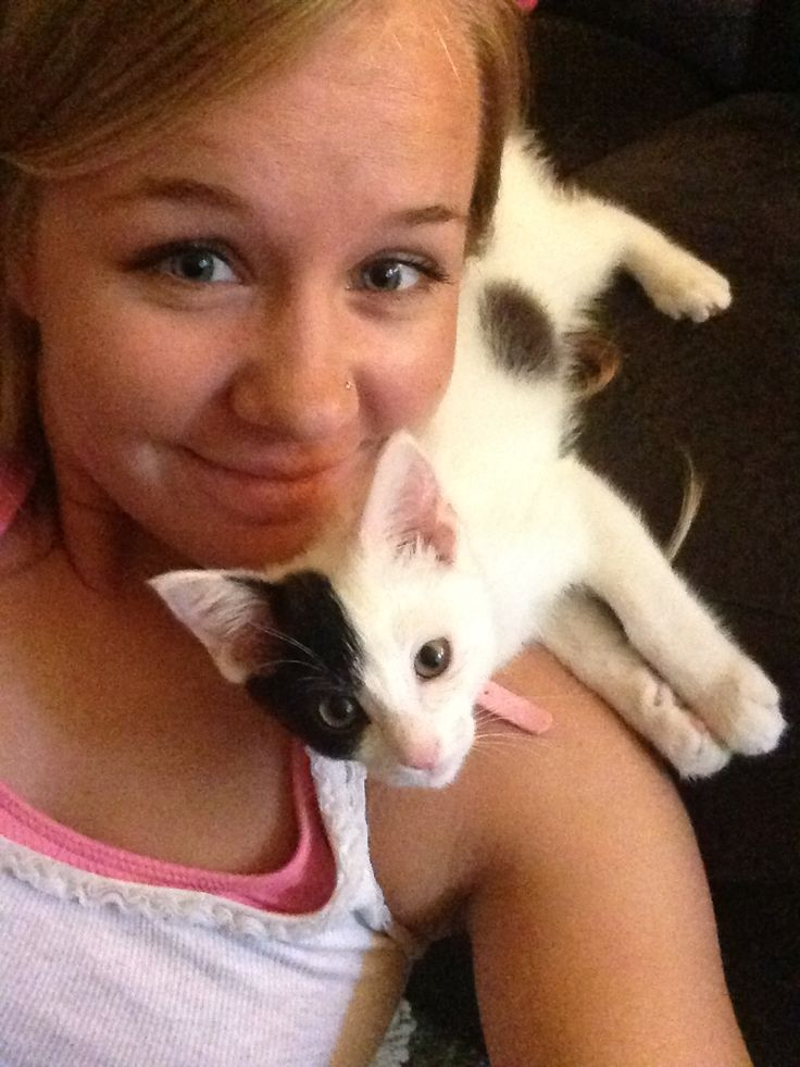 """Ophelia, adopted from Butte Humane Society – Chico, CA: """"Ophelia is a pirate on my shoulder!"""""""