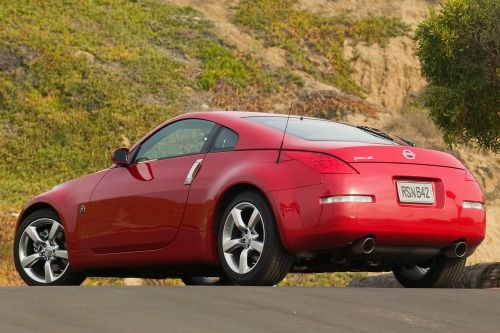 2007 Nissan 350Z Enthusiast Coupe Exterior