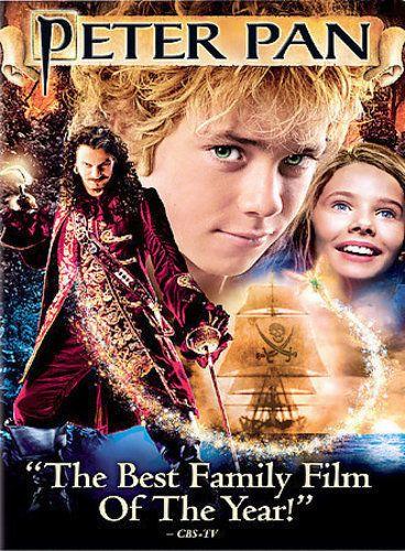 PETER PAN NEW DVD