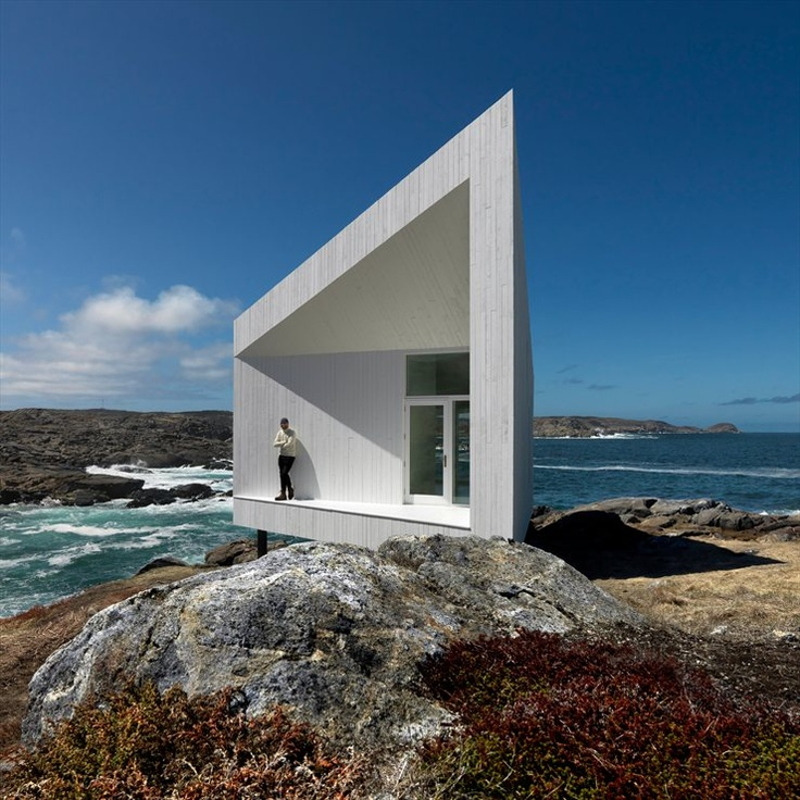 Squish Studio, Newfoundland, Fogo Island, 2011