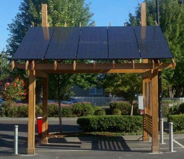solar pergola.   I'm in a ground floor mainsonette.. have garden but no roof.  AND I can take it with me if I move