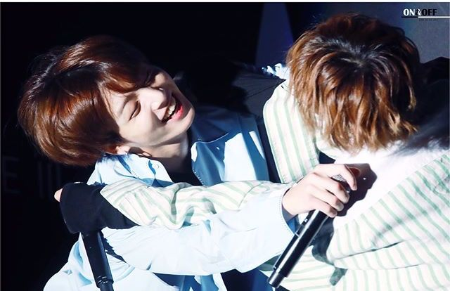 Look how happy Tae makes Jungkook