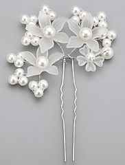 Imitation+Pearls+Wedding/Special+Occasion+Hairp...+–+USD+$+2.99