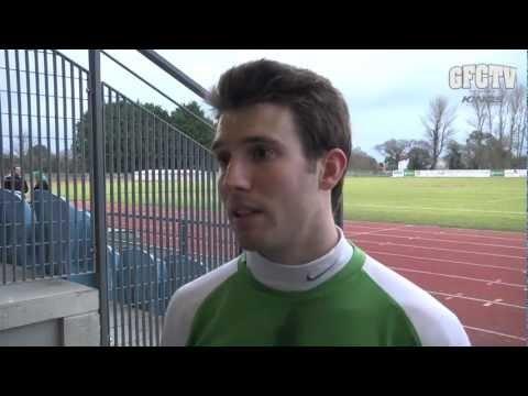 Ross Allen interviewed by Matt Lihou.  Video courtesy of GFCTV in partnership with Kings Life    Guernsey FC 4, Erith & Belvedere 0