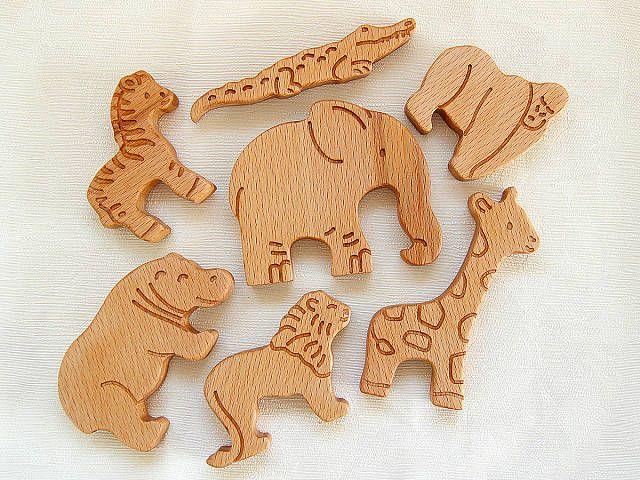 фигурки животных для детей, животные африки игрушки, деревянные игрушки, грызунок