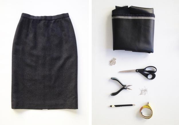DIY: Reciclar ropa y accesorios con retales de Cuero o Piel Diy, Skirts, Ideas, Fashion, Vestidos, Sustainable Fashion, Ropa Vieja, Sewing Tutorials, Manualidades