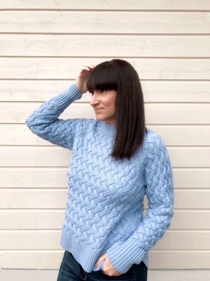 Cubus blå tröja