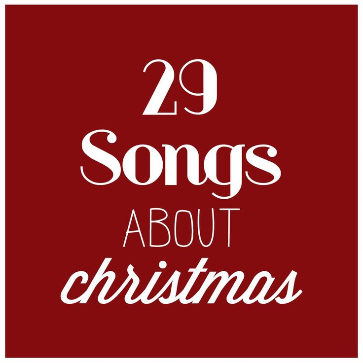 songs about christmas playlist.