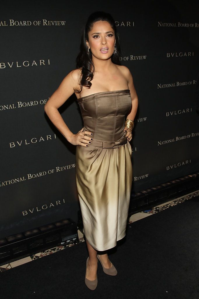 Salma Hayek Photos - 2008 National Board Of Review Awards Gala - Zimbio