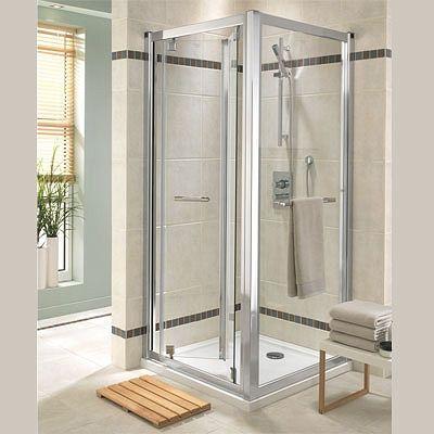 Geo6 Bifold Door 800mm LH or RH – Shower Enclosures and Trays - Twyford