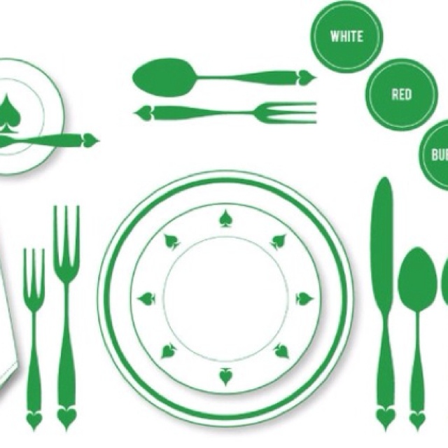 Pin by Paula Slabbert on bits and pieces | Proper table setting, Formal dinner table, Table settings