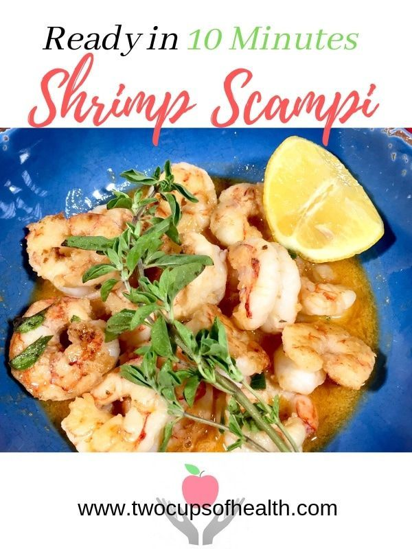 This easy Shrimp Scampi recipe is rich, totally delicious and super quick to mak…