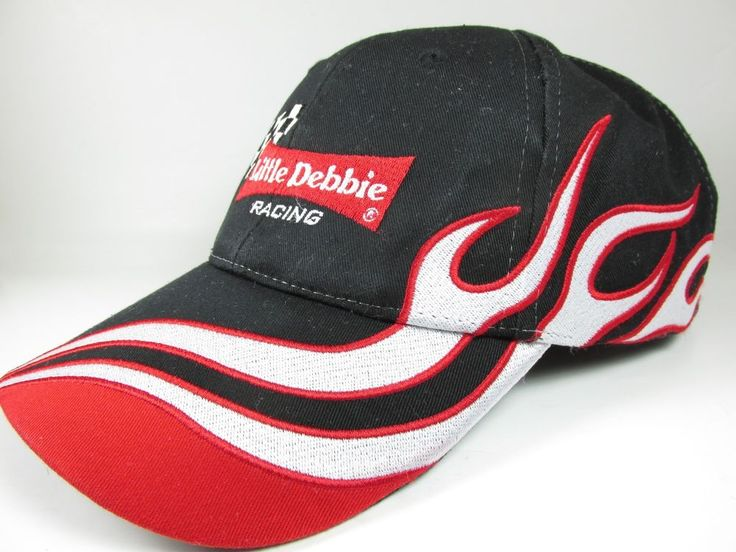Little Debbie Snacks Cap/Hat Adjustable Strap NASCAR Racing Ken Schrader 21  #LittleDebbie #BaseballCap